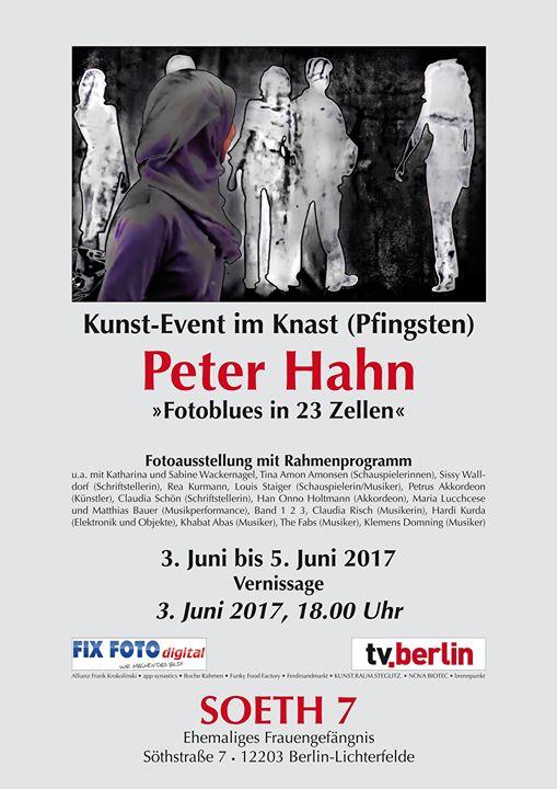 Kunst-Event im Knast  Fotoausstellung Peter Hahn