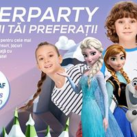 Super Party cu Olaf Elsa i Anna la River Plaza Mall