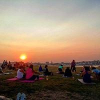 Fall Equinox Outdoor Yoga  Meditation w Kelly Rich