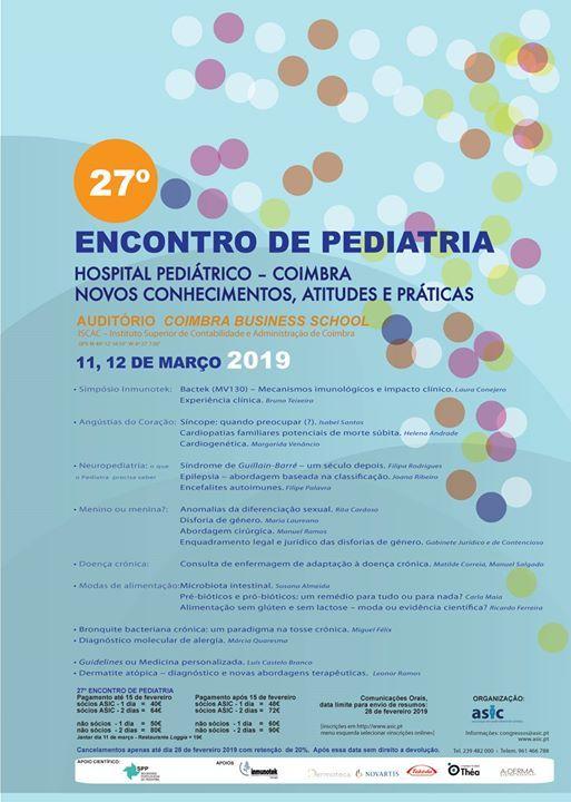27 Encontro de Pediatria