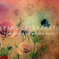 Beltane Potluck and Sound Bath