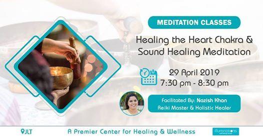 Healing The Heart Chakra & Sound Healing Meditation at