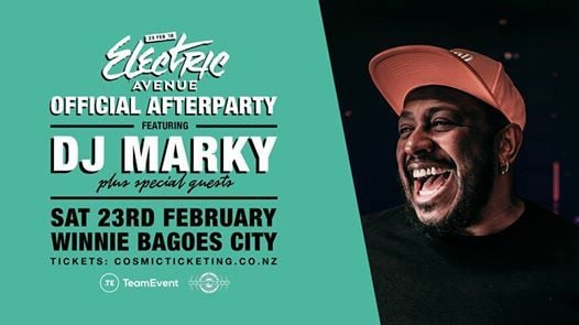 Electric Avenue Official Afterparty with DJ Marky