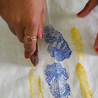 Create your your Block printed Indian tunic