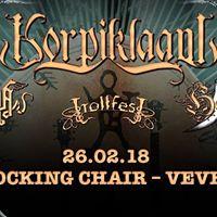 Korpiklaani Arkona Heidevolk Trollfest at Rocking Chair