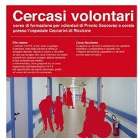 Corso di Formazione Volontari Pronto Soccorso Ospedale Ceccarini