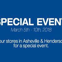 Special Event  Asheville &amp Hendersonville