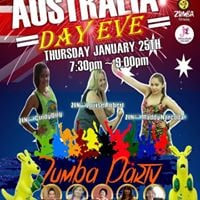 Australia Day Eve Zumba Party