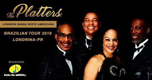The Platters em Londrina - Show Internacional