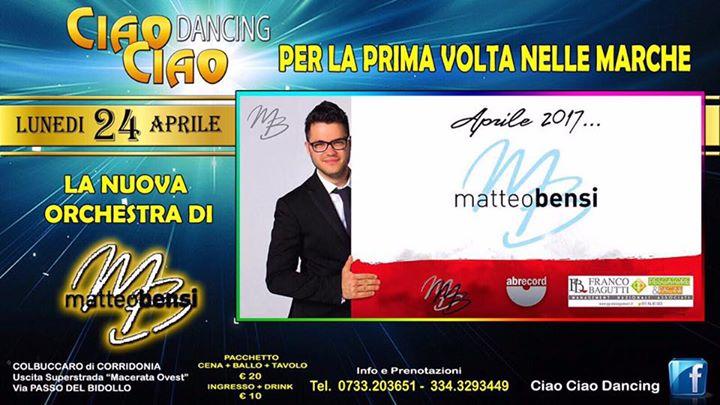 Matteo Bensi Calendario.Serata Evento Matteo Bensi At Ciao Ciao Dancing