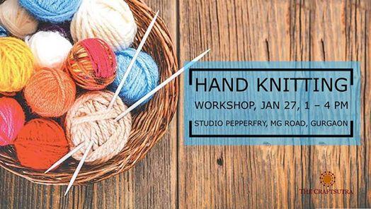 Hand Knitting Workshop