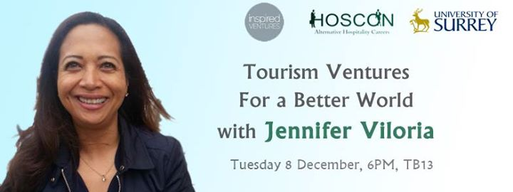 Tourism Ventures for a Better World with Jennifer Viloria CEO of Inspired Ventures and Founder of Isla investments