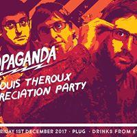 Louis Theroux Appreciation Party Propaganda Sheffield