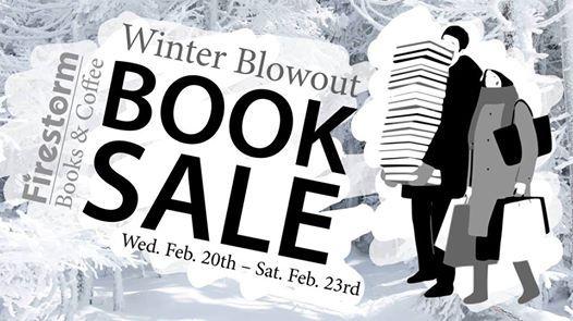 Winter Blowout Book Sale