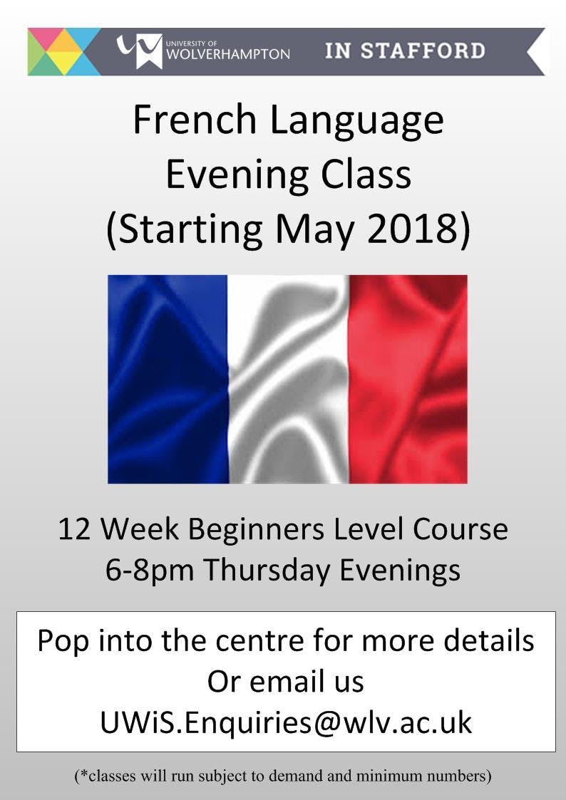 French Language Beginners Taster SessionMeet the Tutor