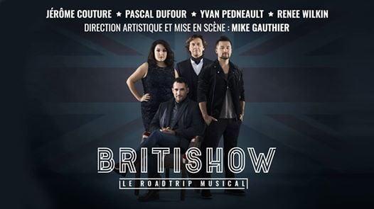 Le Britishow à Brossard At Letoile Banque National Dix30