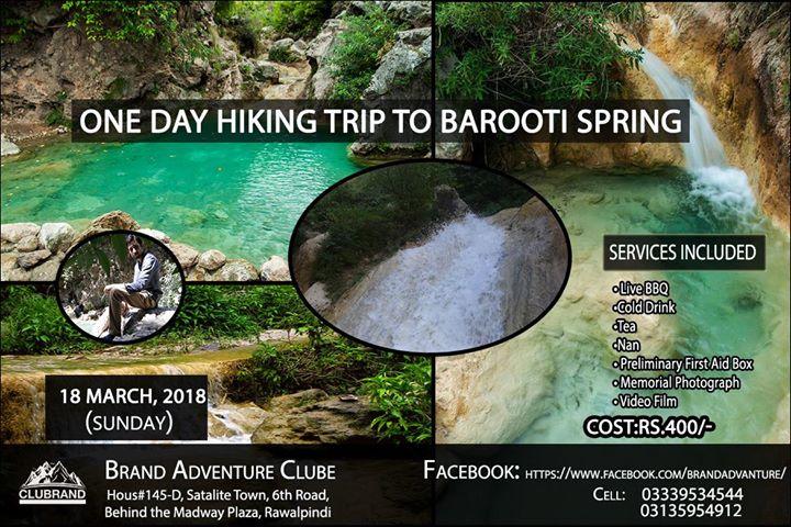 One Day Hiking Trip to Barooti Spring