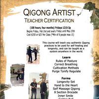 Qigong Artist - Teacher Certification