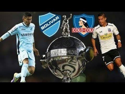 Fecha  Copa Libertadores  Bolivar Vs Colo Colo En La Paz