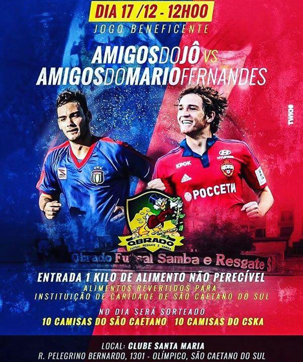 Amigos do J vs Amigos Mario Fernandes