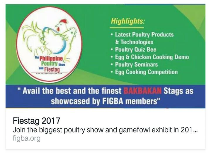 The Philippine Poultry Show & Fiestag 2017