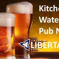 Kitchener - Waterloo Pub Night
