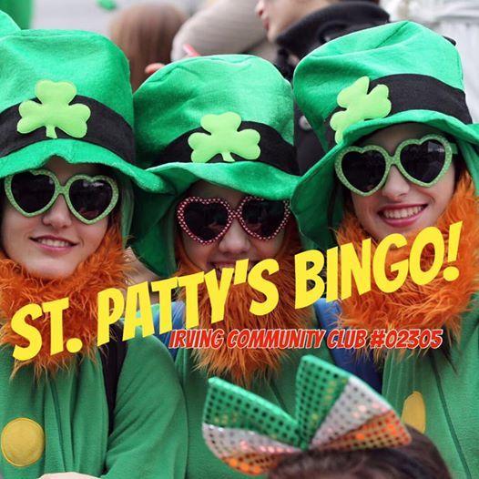 St. Pattys BINGO