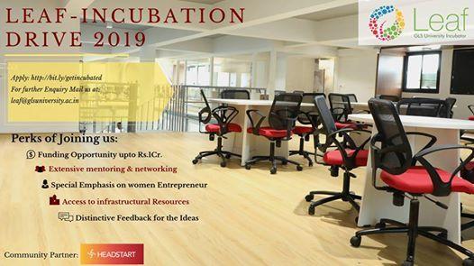LEAF - Incubation Drive 2019
