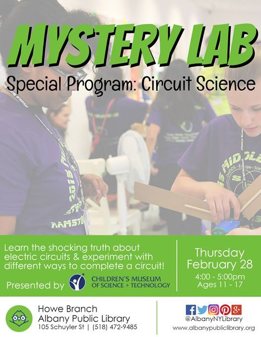 Mystery Lab Circuit Science