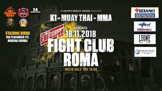 Fight Club Roma - Road To Enfusion
