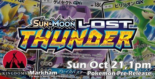 Pokemon Lost Thunder Pre-Release