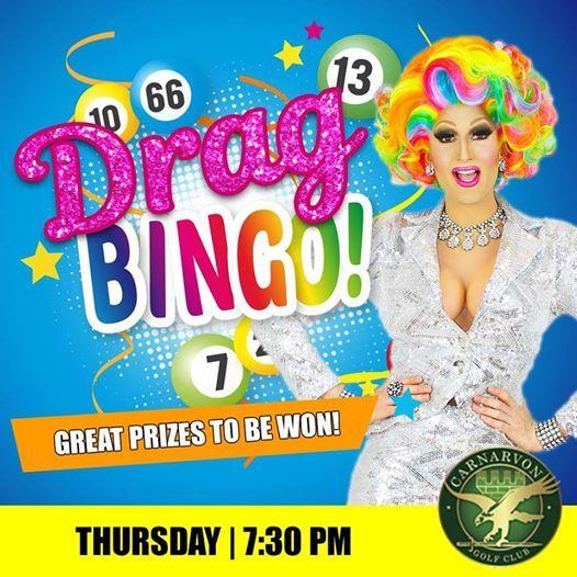 Drag Bingo at Carnarvon Golf Club hosted by Charlamaine & Cassie