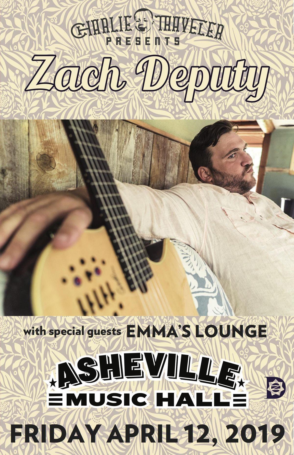 CHARLIE TRAVELER PRESENTS Zach Deputy w Emmas Lounge - [funk  jam  soul]
