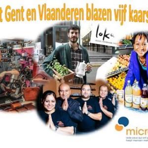 MicroStart Gent en Vlaanderen blazen vijf kaarsjes uit