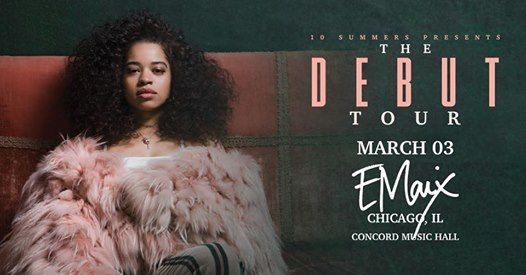Ella Mai at Concord Music Hall [SOLD OUT]