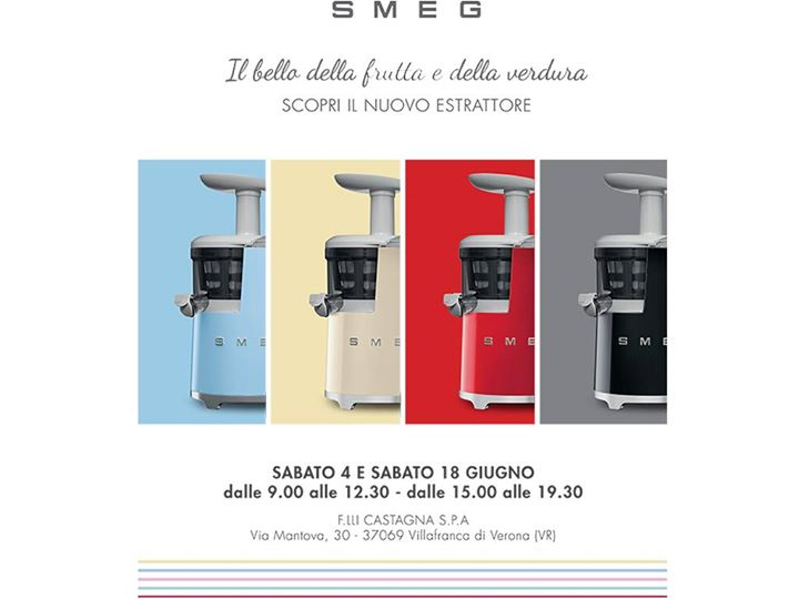 Nuovo estrattore SMEG at Castagna F.lli S.p.A., Villafranca di Verona