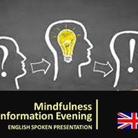 Mindfulness Information Evening (English spoken)