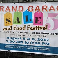 Grand Garage Sale and Food Festival 5