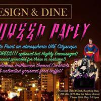 Design &amp Dine - Halloween Party