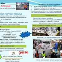 Electrical training program and semi-skilled Artisan