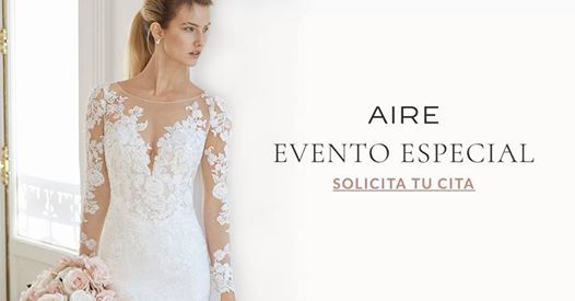 trunk show novia | aire barcelona at christian menaromarta