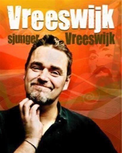 Jack Wreesvijk uppträder på Härnäsets Folkets Hus