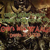 Torneo Warhammer 40k 1500 Punti Urban Legend Parma