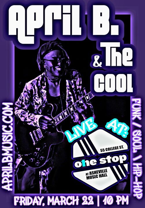 April B & the Cool at The One Stop