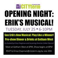 Opening Night Eriks Musical
