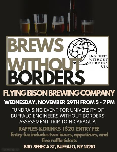 brews without borders at flying bison brewing company buffalo