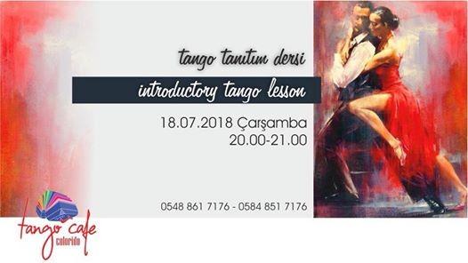 Tango Tantm Dersi  Introductory Tango Lesson