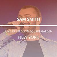 Sam Smith in New York