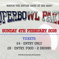 Superbowl Party at Zee