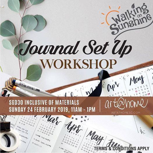 Journal Set Up Workshop